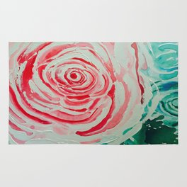 Where the Pink Roses Grow, Summer is Ending and Romantic Fall Nights are Here Rug