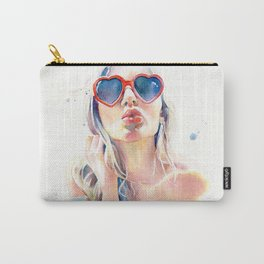 Summer time, kissing time Carry-All Pouch