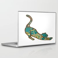 jewish Laptop & iPad Skins featuring I love you, kitten by Brown Eyed Lady