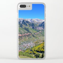 Telluride Colorado Clear iPhone Case