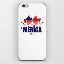 America July 4th iPhone Skin
