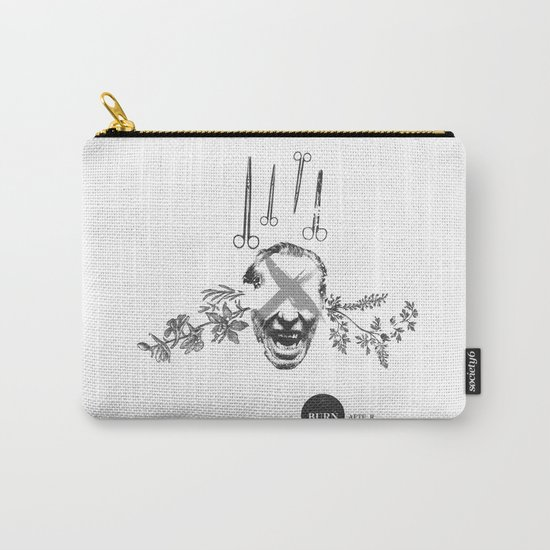 Burn After Reading   Collage Carry-All Pouch