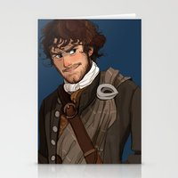outlander Stationery Cards featuring Sing me a song by Theanimatedlife