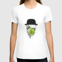 magritte T-shirts featuring Magritte Skull by HenryWine