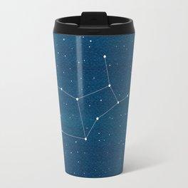 Virgo zodiac constellation Travel Mug