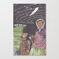 brain waves Canvas Prints featuring Brain Waves by Jessie Caron
