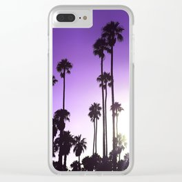 California mood Clear iPhone Case