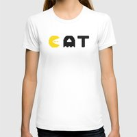 eat T-shirts featuring EAT by Adil Siddiqui