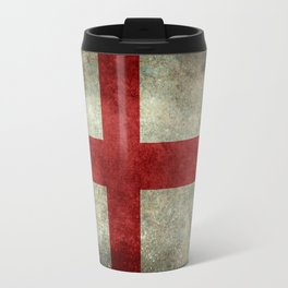 Flag of England (St. George's Cross) Vintage retro style Travel Mug