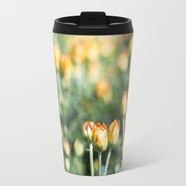 Yellow Flowers at Fall Domes Show Travel Mug