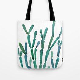 Succulent rhipsalis watercolor Tote Bag