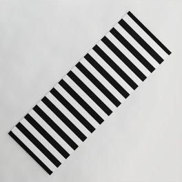 Stripe Black And White Vertical Line Bold Minimalism Stripes Lines Yoga Mat