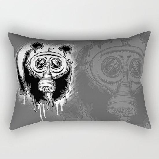 Choked Panda Rectangular Pillow