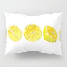 Lemon Slices Graphic Design Pillow Sham