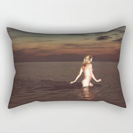 Naked Youth Rectangular Pillow