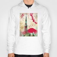 tokyo Hoodies featuring Tokyo by Kimball Gray