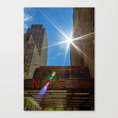 Rainbow Room Canvas Print