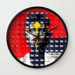 Disk Head 1 Wall Clock
