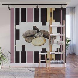 BEDROCKS, STONES, PHOTO ABSTRACT Wall Mural