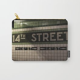 14th Street Station Carry-All Pouch