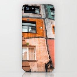 Hundertwasser 3 iPhone Case