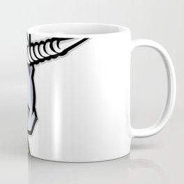 Unicorn Head Mascot Coffee Mug