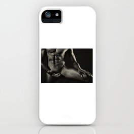 Photograph Nude Male Body iPhone Case