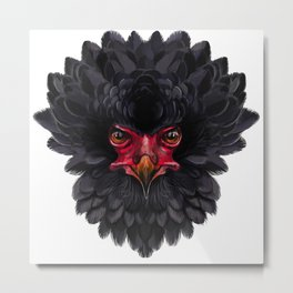 Black eagle Africa Metal Print
