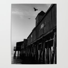 Flyover Pier Poster