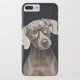 Mr Weimaraner iPhone Case