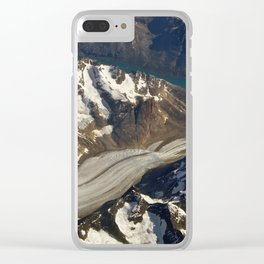 Glaciers. Clear iPhone Case