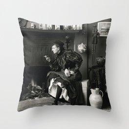 New Woman Throw Pillow