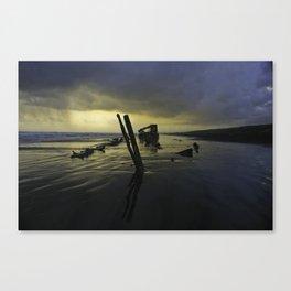Haunted Shipwreck  Canvas Print