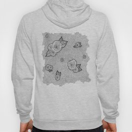 Dotted Floral Hoody