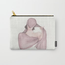 The Mysterious Velvet Cape Carry-All Pouch