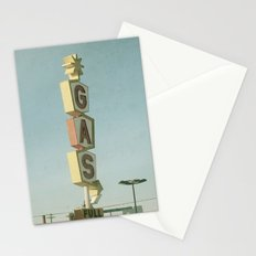 Vintage Gas Stationery Cards