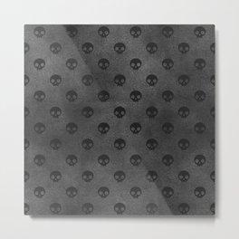 Black Skulls Metal Print