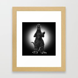 Noirzilla Framed Art Print