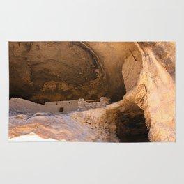 Ancient Pueblo - Gila Cliff Dwellings Rug