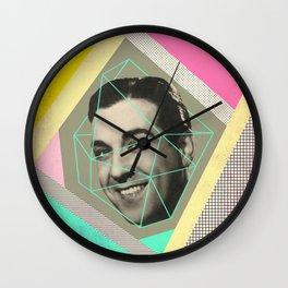 caged man, mariano Wall Clock