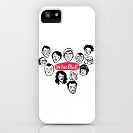 We Love Elliott iPhone Case