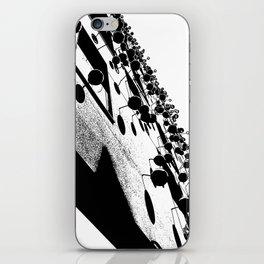 Barna Love B&W iPhone Skin