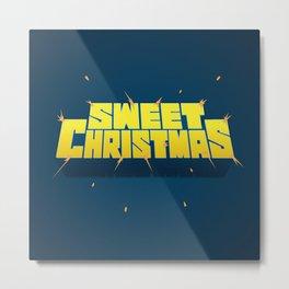 Sweet Christmas Metal Print