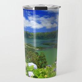 Crater lakes Travel Mug