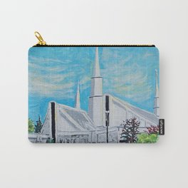 Chicago Illinois LDS Temple Carry-All Pouch