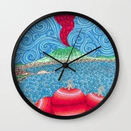 Christmas Ball Corno Wall Clock