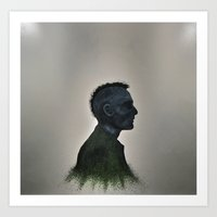 taxi driver Art Prints featuring Taxi Driver by SCOTT BELCASTRO