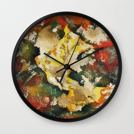 Cave Dweller Two Wall Clock