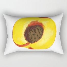 Peach Pit Rectangular Pillow