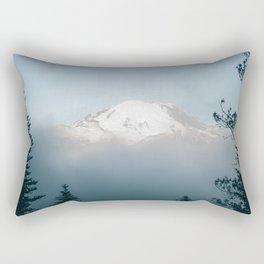 Mount Rainier VIII Rectangular Pillow